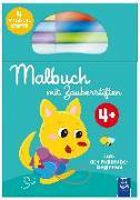 Cover-Bild zu Malbuch mit Zauberstiften 4+ (grün)