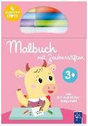 Cover-Bild zu Malbuch mit Zauberstiften 3 + (pink)