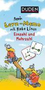 Cover-Bild zu Mein Lern-Memo mit Rabe Linus - Einzahl und Mehrzahl von Raab, Dorothee