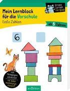 Cover-Bild zu Mein Lernblock für die Vorschule - Erste Zahlen von Lang, Hannah