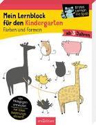 Cover-Bild zu Mein Lernblock für den Kindergarten - Farben und Formen von Lang, Hannah