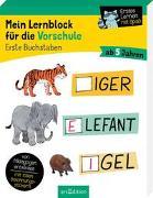 Cover-Bild zu Mein Lernblock für die Vorschule - Erste Buchstaben von Lang, Hannah