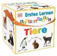 Cover-Bild zu Erstes Lernen Stapelwürfel. Tiere