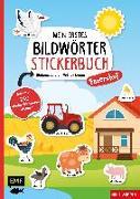 Cover-Bild zu Mein erstes Bildwörter-Stickerbuch - Bauernhof