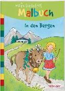 Cover-Bild zu Mein schönstes Malbuch In den Bergen von Beurenmeister, Corina (Illustr.)