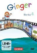 Cover-Bild zu Ginger, Lehr- und Lernmaterial für den früh beginnenden Englischunterricht, Materialien zu allen Ausgaben, 4. Schuljahr, Ginger Stories, Video-DVD von Röbers, Daniela