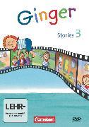 Cover-Bild zu Ginger, Lehr- und Lernmaterial für den früh beginnenden Englischunterricht, Materialien zu allen Ausgaben, 3. Schuljahr, Ginger Stories, Video-DVD von Röbers, Daniela