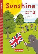 Cover-Bild zu Sunshine, Early Start Edition - Neubearbeitung, 2. Schuljahr, Activity Book mit Audio-CD, Minibildkarten und Faltbox von Brunsmeier, Sonja