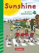 Cover-Bild zu Sunshine, Zu allen Ausgaben (Neubearbeitung), 4. Schuljahr, Mr Mole's Word Trainer von Röbers, Daniela
