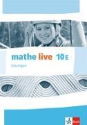 Cover-Bild zu mathe live 10E. Ausgabe W. Lösungen Klasse 10