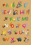 Cover-Bild zu Mein buntes Abc-Poster von Rath, Tessa (Illustr.)