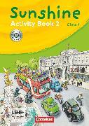 Cover-Bild zu Sunshine, Allgemeine Ausgabe 2006, Band 2: 4. Schuljahr, Activity Book mit CD-Extra, Lernsoftware und Lieder-/Text-CD auf einem Datenträger von Hollbrügge, Birgit