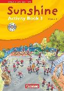 Cover-Bild zu Sunshine, Early Start Edition - Ausgabe 2008, Band 3: 3. Schuljahr, Activity Book mit CD-Extra, Lernsoftware und Lieder-/Text-CD auf einem Datenträger von Hollbrügge, Birgit