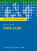 Cover-Bild zu Huis clos (Geschlossene Gesellschaft) von Jean-Paul Sartre von Sartre, Jean-Paul