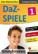 Cover-Bild zu DaZ-Spiele in drei Niveaustufen 1 (eBook) von Heitmann, Friedhelm