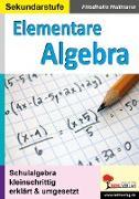 Cover-Bild zu Elementare Algebra (eBook) von Heitmann, Friedhelm