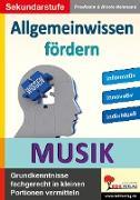 Cover-Bild zu Allgemeinwissen fördern MUSIK (eBook) von Heitmann, Friedhelm