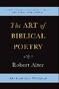 Cover-Bild zu The Art of Biblical Poetry von Alter, Robert