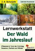 Cover-Bild zu Lernwerkstatt Der Wald im Jahreslauf von Rosenwald, Gabriela