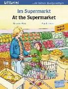 Cover-Bild zu Im Supermarkt. Kinderbuch Deutsch-Englisch von Böse, Susanne