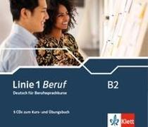 Cover-Bild zu Linie 1 Beruf B2. CD-Box zum Kurs- und Übungsbuch von Meister, Hildegard