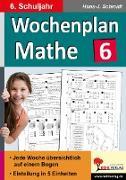 Cover-Bild zu Wochenplan Mathe / Klasse 6 von Schmidt, Hans-J.