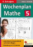 Cover-Bild zu Wochenplan Mathe / Klasse 5 von Schmidt, Hans-J.