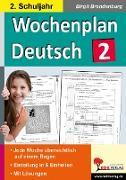 Cover-Bild zu Wochenplan Deutsch 2. Schuljahr