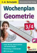 Cover-Bild zu Wochenplan Geometrie / Klasse 3-4