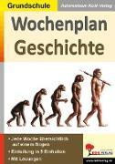 Cover-Bild zu Wochenplan Geschichte von Kohl-Verlag, Autorenteam