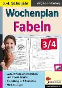 Cover-Bild zu Wochenplan Fabeln / Klasse 3-4