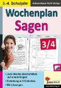 Cover-Bild zu Wochenplan Sagen / Klasse 3-4