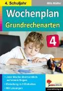 Cover-Bild zu Wochenplan Grundrechenarten / Klasse 4 von Kohl-Verlag, Autorenteam