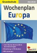 Cover-Bild zu Wochenplan Europa von Kohl-Verlag, Autorenteam