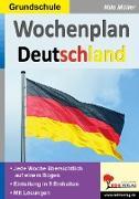 Cover-Bild zu Wochenplan Deutschland von Kohl-Verlag, Autorenteam