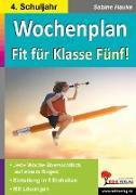 Cover-Bild zu Wochenplan Fit für Klasse Fünf! (eBook) von Hauke, Sabine
