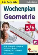 Cover-Bild zu Wochenplan Geometrie / Klasse 5-6 von Lamm, Stefan
