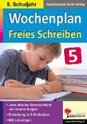 Cover-Bild zu Wochenplan Freies Schreiben / Klasse 5