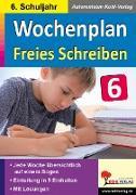 Cover-Bild zu Wochenplan Freies Schreiben / Klasse 6