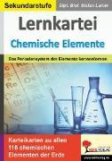 Cover-Bild zu Lernkartei Chemische Elemente (eBook) von Lamm, Stefan