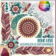 Cover-Bild zu Colorful Moments - Boho Love von frechverlag