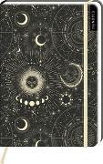 Cover-Bild zu myNOTES Notizbuch A5: Astrowelt
