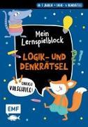 Cover-Bild zu Endlich Vorschule! Mein Lernspielblock - Logik- und Denkrätsel von Thißen, Sandy (Illustr.)