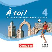 Cover-Bild zu À toi !, Vier- und fünfbändige Ausgabe, Band 4, Audio-CDs von Herzog, Walpurga