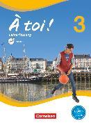 Cover-Bild zu À toi !, Vier- und fünfbändige Ausgabe, Band 3, Schülerbuch - Lehrerfassung mit Video-DVD von Herzog, Walpurga