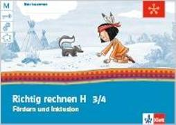Cover-Bild zu Mein Anoki-Übungsheftt. Richtig rechnen 3.-4. Schuljahr. Fördern und Inklusion H. Arbeitsheft