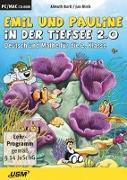 Cover-Bild zu Emil und Pauline in der Tiefsee 2.0_Deutsch und Mathe für die 2. Klasse von Bartl, Almuth