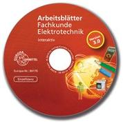 Cover-Bild zu Arbeitsblätter Fachkunde Elektrotechnik - interaktiv von Käppel, Thomas