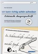 Cover-Bild zu Ich kann richtig schön schreiben - Lateinische Ausgangsschrift LA von Langhans, Katrin