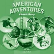 Cover-Bild zu American Adventures Elementary: Class Audio CD von Wetz, Ben